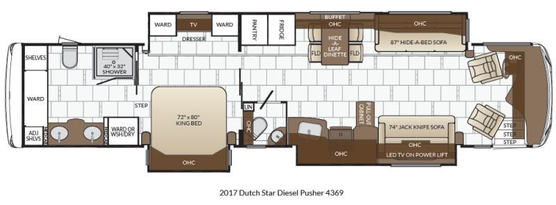New 2019 Dutch Star 4369