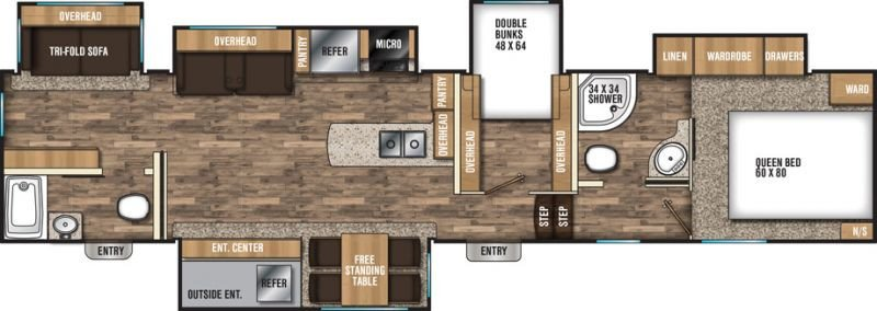 New 2018 Coachmen Chaparral 373mbrb Overview Berryland Campers